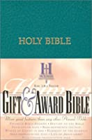 The Holy Bible: Gift & Award, King James Version, Teal Imitation Leather