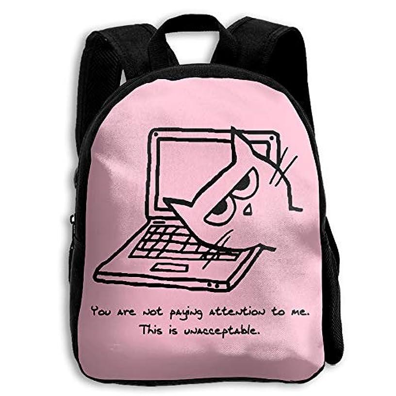 安息誇張するストライクMM RESON 猫とコンピュータ あなたは私に注意しない これが受け入れられない リュック デイパック リュックサック バックパック キッズリュック プリント 小学生 中学生 高校生 大学生 子供用 キッズ 学童 おしゃれ...
