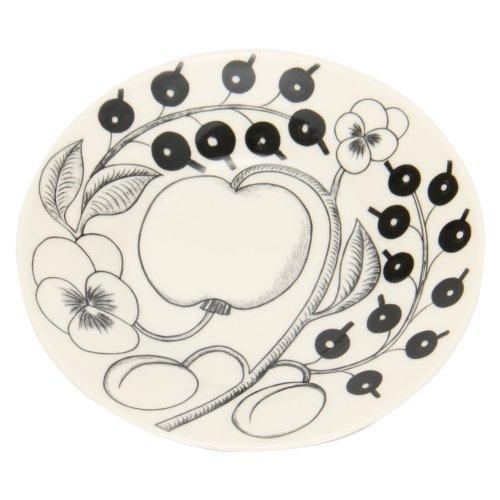 【Arabia】 [ アラビア ] ブラックパラティッシ PARATIISI BLACK&WHITE 64 1180006678-5 ソーサー(皿) 16.5cm Saucer 並行輸入品 新生活 [並行輸入品]