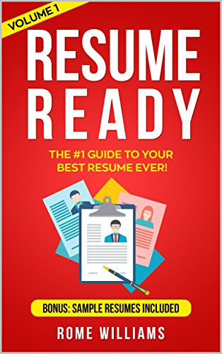 amazon resume ready the 1 guide to your best resume ever bonus