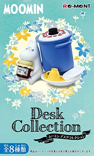 ムーミン DeskCollection (デスクコレクション) BOX商品 1BOX=8個入り、全8種類