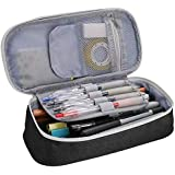 Pen Case Pencil Bag, ProCase Portable Pencil Pouch Stationery Holder Storage Organizer Big Capacity for Pens Pencils Highligh