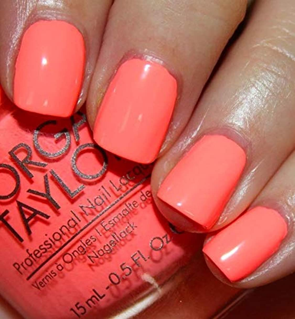 性能繁栄する去るMorgan Taylor - Professional Nail Lacquer - Don't Worry, Be Brilliant - 15 mL / 0.5oz