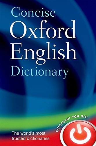 Download Concise Oxford English Dictionary 0199601089