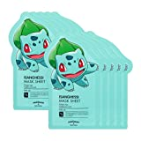TONYMOLY x Pokemon Bulbasaur/Isanghessi Mask Sheet Pack of 10 (並行輸入品)