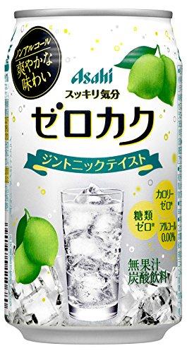 アサヒ ゼロカク ジントニックテイスト (ノンアルコールカクテル) 350ML 1缶
