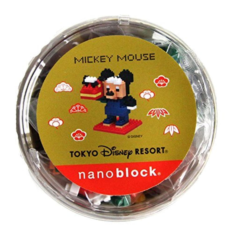 ディズニーリゾート限定 2015 ニューイヤー グッズ お正月 ナノブロック ミッキーマウス ミッキー 獅子舞