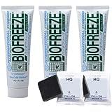 バイオフリーズ(BIOFREEZE) 110g - ボディ用、チューブタイプ (3本+ミニソープ2個セット)