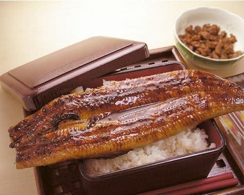 肉厚タップリの超特大サイズの国産うなぎ蒲焼き230-249gx1本(タレ、山椒付き) 川口水産