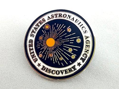 2001年宇宙の旅 ディスカバリー号 ミッションロゴ ピンバッジ