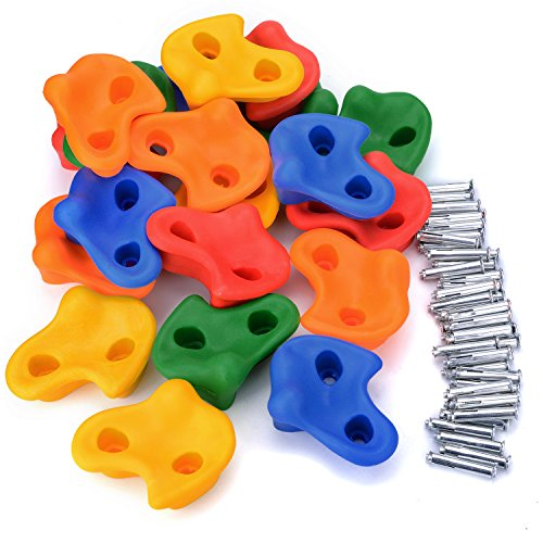 子供ロックライミング クライミングウォール クライミング ホールド 子供の游び道具 体を鍛える 自信を育てる 簡単な取扱説明書付き