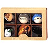 Studio Ghibli Complete Box 6 Figure Mascots with Key Ball Chain Ver.1 by Big Star