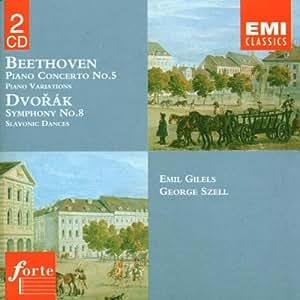 Beethoven: Piano Concerto No.5, etc