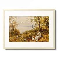 アーネスト・ウォルボーン Ernest Charles Walbourn 「Motherly Love.」 額装アート作品