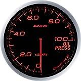 日本精機 Defi (デフィ) メーター【Defi-Link ADVANCE BF】油圧計 (アンバーレッド) DF10202