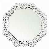 クロシオ テーブル ミラー 8角 Octa クリスタル 幅51.5cm 卓上ミラー 壁掛けミラー 豪華 ラグジュアリー 081016