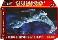 Klingon Vor 'cha Heavy Cruiser Blueprints Star Trek
