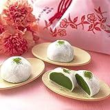 伊藤久右衛門 母の日 プレゼント 宇治抹茶だいふく 6個入 新茶と玉露 セット 花 の巾着