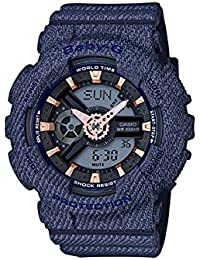 CASIO (カシオ) 腕時計 Baby-G (ベビーG) 海外モデル「DENIM'D COLOR(デニムドカラー)」BA-110DE-2A1 [並行輸入品]