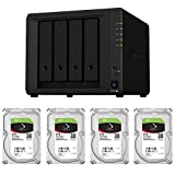 【NAS HDDセット】Synology DS920+ & Seagate HDD [4ベイ/HDD IronWolf-6TBx4台同梱/Celeron64bitクアッドコアCPU 4GBメモリ搭載] DS920+-SI6T4A