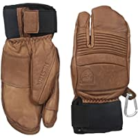 Hestra Leather Fall Line 3-Finger Gloves, Brown, 9 by Hestra [並行輸入品]