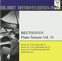 Beethoven Edition Vol. 19/Piano Sonatas Vol. 10