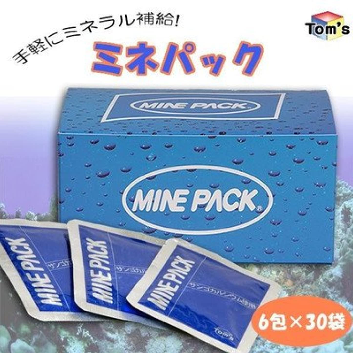 南西背景爆発物手軽にミネラル補給 ミネパック 1箱(6包×30袋)