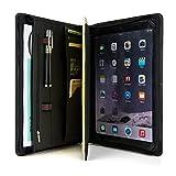 (コフェイス)Coface 高級ビジネスパッドフォリオ A4サイズオーガナイザー iPad Pro 9.7用ケース 多機能書類フォルダー 牛革
