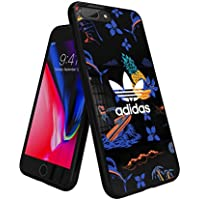 【アディダス公式ライセンスショップ】アディダスオリジナルス iPhone6Plus/6SPlus/7Plus/8Plusケース アイランドシリーズ TPUケース ブラック [adidas Originals Beach Snap Case iPhone 6+/6S+/7+/8+]