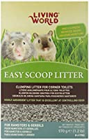 Living World Hamsters/Gerbils Easy Scoop Litter, 1.2-Pound by Living World