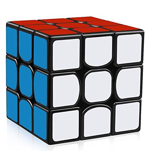 [해외]HAKATA 스피드 큐브 3x3x3 매직 큐브 경기 용 입체 퍼즐 (黑素 체)/HAKATA speed cube 3 × 3 × 3 Rubik cube Competition solid puzzle (black body)
