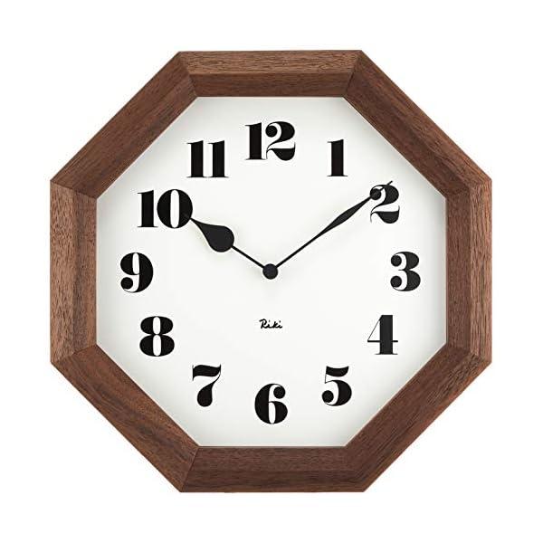 Lemnos (レムノス) 掛け時計 ブラウン ...の商品画像