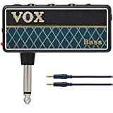【audio-technica接続ケーブル付】VOX/ヴォックス amPlug2 Bass AP2-BS ワイドレンジ設計なベース専用 アンプラグ ヘッドホンギターアンプ