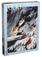 1994 Persis Clayton Weirs 1000 Piece Birdwatchers Puzzle