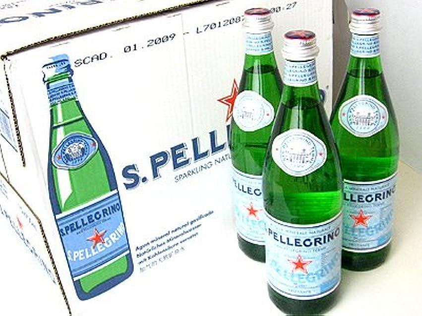 悩む征服するリラックスサンペレグリノ 瓶入 750ml×12本(1ケース)