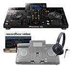 Pioneer XDJ-RX2(ブラック) + アクセサリーセット [ダストカバー+ヘッドホン] [rekordbox dj]ラインセンス付属 一体型DJシステム パイオニア