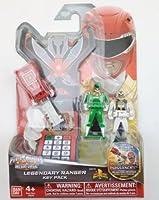 Power Rangers Super Megaforce / Key Pack, キー パワーレンジャー 人形/ おもちゃ /フィギュア /白/緑/赤(38279)