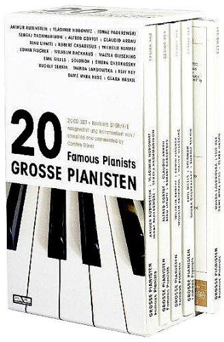 20 Famous Pianists