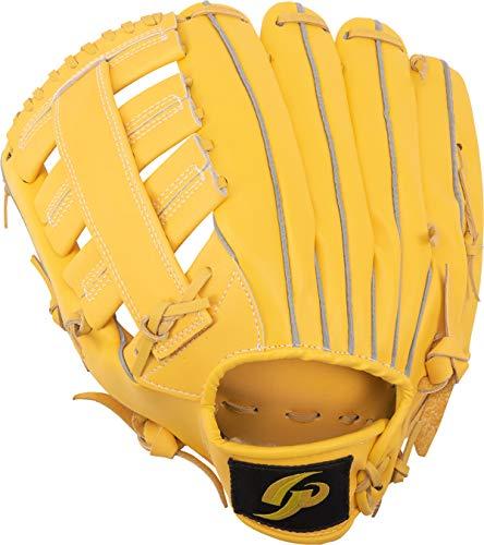 GP (ジーピー) 野球グローブ 軟式一般 左投げ用 オールラウンド 12.5インチ イエロー 43816