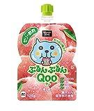 コカ・コーラ ミニッツメイド ぷるんぷるんQoo もも味 125g パウチ×6