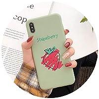 キャンディーカラー夏スイカレモン電話カバーTPUシリコンケース6 Plus 6s Plus,S 4742,ForiPhoneX