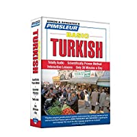 Pimsleur Turkish Basic Course - Level 1 Lessons 1-10 CD: Learn to Speak and Understand Turkish with Pimsleur Language Programs