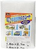 ユタカメイク PE透明糸入りシート 1.8m×2.7m B-309
