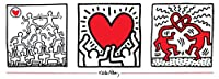 Keith Haring-Untitled (1987)-Poster