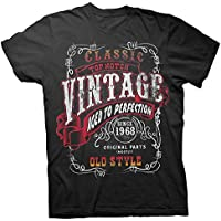Vintage 1968 Aged To Perfection - Sturgis - 50th Birthday Gift T-Shirt