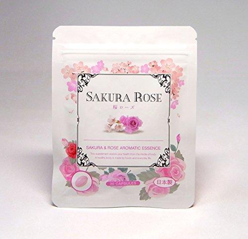 ローズサプリ 濃縮生 桜ローズ 30日分 濃厚成分がとろ~り 体臭、口臭ケアに人気