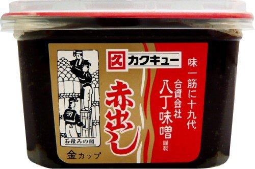 八丁味噌 カクキュー 赤だし 金カップ 500g