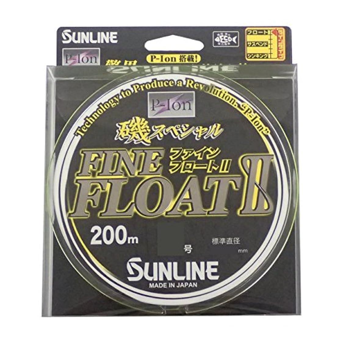注釈ハイランドモンクサンライン(SUNLINE) ナイロンライン 磯スペシャル ファインフロートII 200m 10号 ビビットイエロー