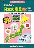 わかるよ! 日本の産業1 小学生の社会 -交通、人口、農林水産業- (DVDビデオ) (わかるよ! シリーズ)