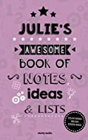 Julie's Awesome Book of Notes, Lists & Ideas: Featuring Brain Exercises!